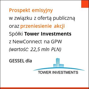Tower investmet